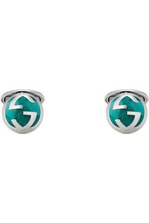 Gucci Men Cufflinks - Cufflinks with Interlocking G