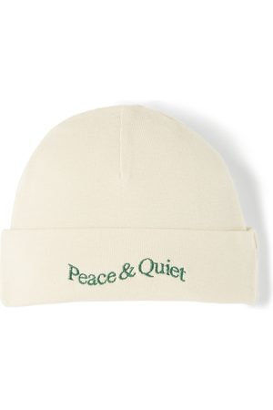 Museum Of Peace & Quiet Beanies - SSENSE Exclusive Baby Word Mark Beanie