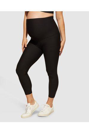 dk active Women Sports Leggings - Lotus Maternity 7 8 Tights - Full Tights Lotus Maternity 7-8 Tights