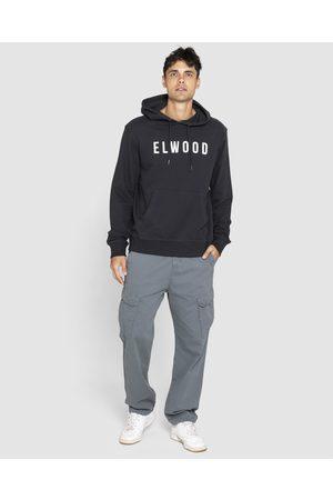 Elwood Mens Huff N Puff Hood - Hoodies (Jet ) Mens Huff N Puff Hood