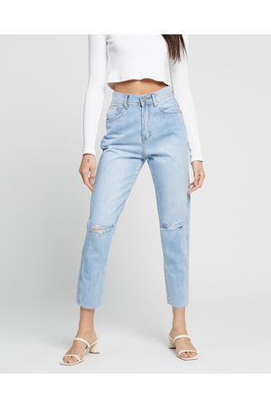 Ziggy Denim Women High Waisted - Meet My Mum Jeans - High-Waisted ( Club Trash) Meet My Mum Jeans