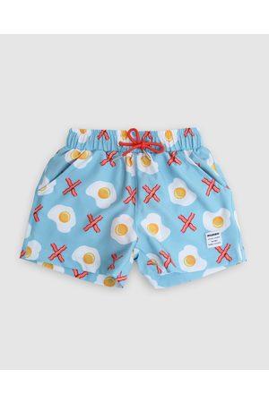 Mosmann Boys Board Shorts - Bacon in X Swim Shorts Kids - Shorts Bacon in X Swim Shorts - Kids