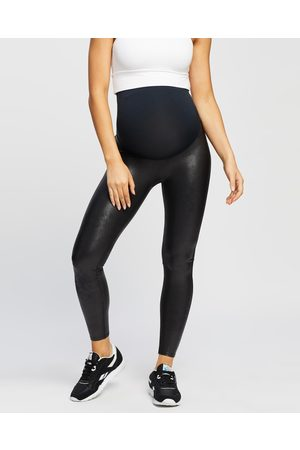 Spanx Women Leather Pants - Mama Faux Leather Leggings THE ICONIC EXCLUSIVE - Pants (Very ) Mama Faux Leather Leggings - THE ICONIC EXCLUSIVE