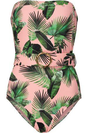 ALEXANDRA MIRO Women Swimsuits - Exclusive to Mytheresa – Whitney palm-print swimsuit