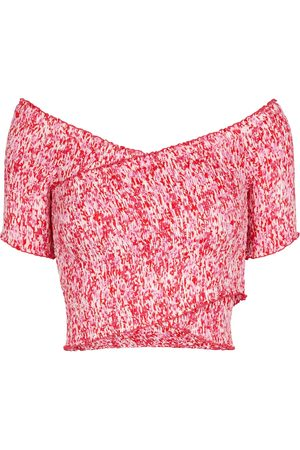 POUPETTE ST BARTH Exclusive to Mytheresa – Soledad floral smocked top
