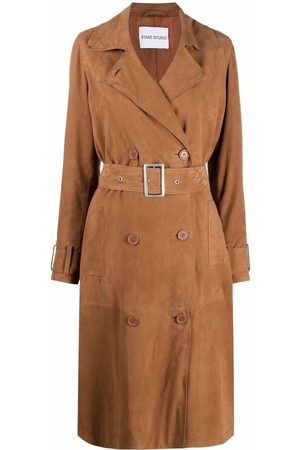 Stand Studio Women Trench Coats - Gemma belted trench coat