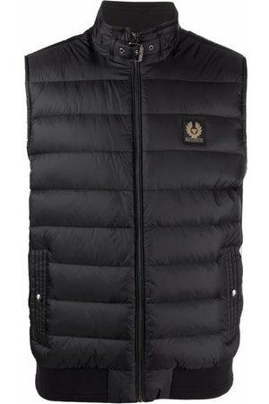 Belstaff Men Winter Jackets - Logo-patch padded gilet