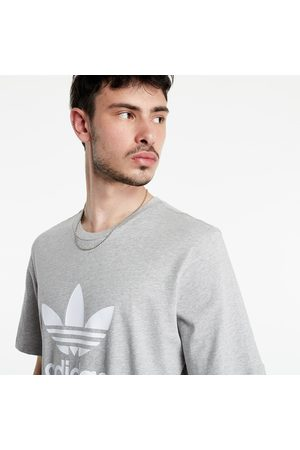 adidas Adidas Trefoil Tee Medium Grey Heather