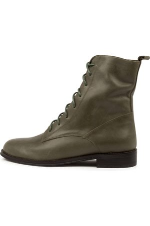 Django & Juliette Women Ankle Boots - Yago Dj Army Boots Womens Shoes Casual Ankle Boots