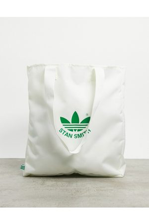 adidas Tote bag with Stan Smith logo print in white