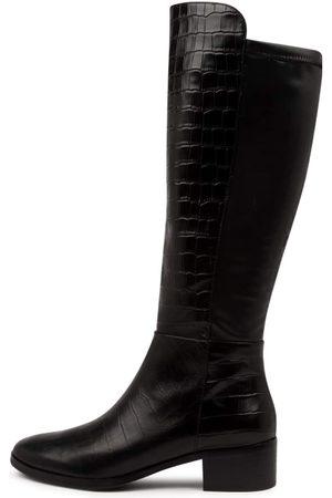 Django & Juliette Women Knee High Boots - Tetley Boots Womens Shoes Casual Long Boots