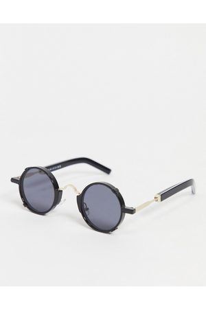 Spitfire Euph 2 unisex round sunglasses in black