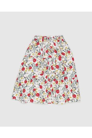 PLAY etc Women Midi Skirts - Floral Boho Skirt Kids - Skirts (Multi) Floral Boho Skirt - Kids