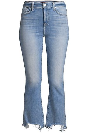 7 for all Mankind High-Rise Slim Flare Jeans