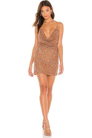 Retrofete Women Mini Dresses - Mich Mini Dress in ,Tan.