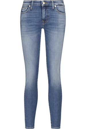 7 for all Mankind Women Slim - Pyper Slim Illusion mid-rise jeans