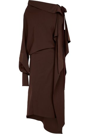 PETAR PETROV Women Midi Dresses - Aaber asymmetric midi dress