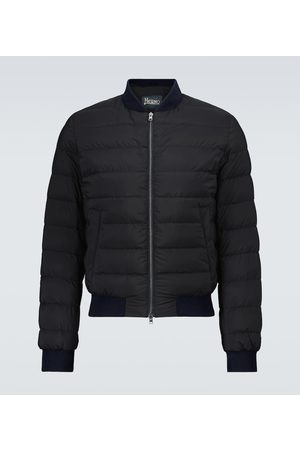 HERNO Men Bomber Jackets - L'aviatore bomber jacket
