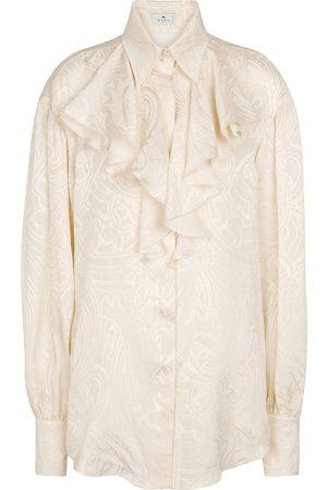 Etro Women Long sleeves - Paisley silk shirt