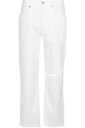 7 for all Mankind Women Boyfriend - The Modern high-rise straight jeans