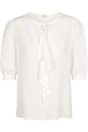 Etro Women Blouses - Silk crêpe blouse
