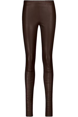 Stouls Women Leather Pants - Carolyn leather leggings
