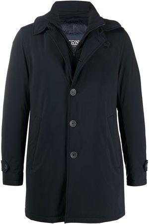 HERNO Men Winter Jackets - Single-breasted padded jacket