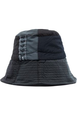 BY WALID Men Hats - Shirting patchwork bucket hat