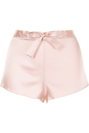 Gilda & Pearl Sophia stretch-silk shorts