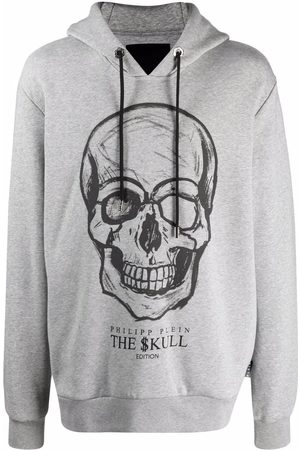 Philipp Plein Men Hoodies - The Skull print hoodie