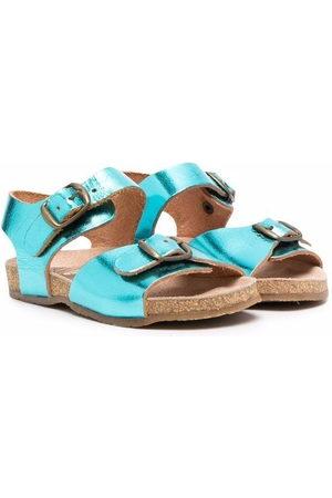 PèPè Sandals - Metallic buckle sandals