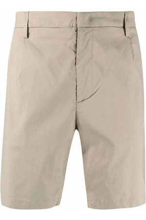Dondup Men Shorts - Mid-rise chino shorts