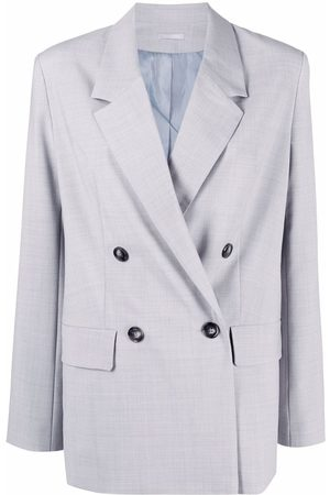 12 STOREEZ Double-breasted wool-blend jacket