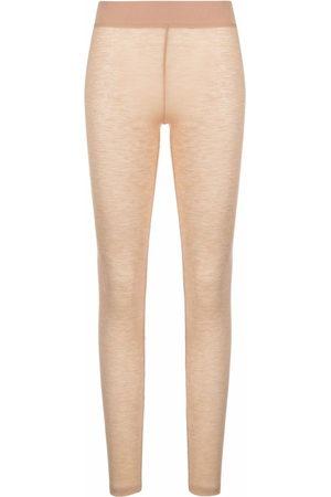 12 STOREEZ Women Leggings - Knitted merino leggings