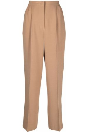 12 STOREEZ Women Formal Pants - High-waisted tapered trousers