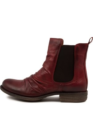EOS Women Ankle Boots - Willo W Cherry Boots Womens Shoes Casual Ankle Boots