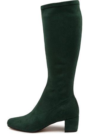 Django & Juliette Women Knee High Boots - Hayleys Forest Boots Womens Shoes Casual Long Boots