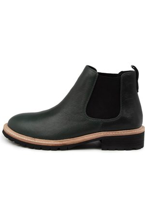 Mollini Women Ankle Boots - Rume Mo Forest Sole Boots Womens Shoes Casual Ankle Boots