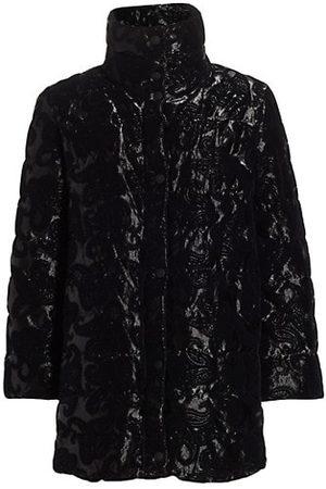 Etro Santa Cruz Velvet Down Jacket