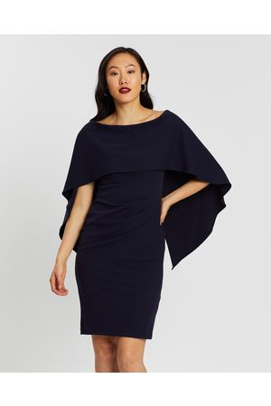 Montique Aerin Crepe Dress - Bridesmaid Dresses (Navy) Aerin Crepe Dress