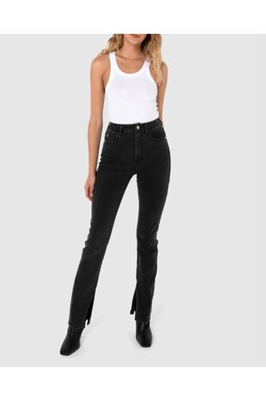 Madison The Label Bentley Jeans - High-Waisted Bentley Jeans