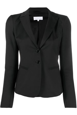 Patrizia Pepe Fitted notched lapel blazer