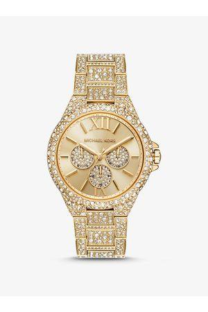 Michael Kors MK Oversized Camille Pavé -Tone Watch