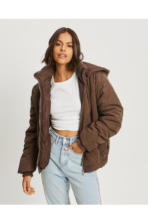 Calli Women Winter Jackets - Lola Puffer Jacket - Coats & Jackets (Chocolate) Lola Puffer Jacket