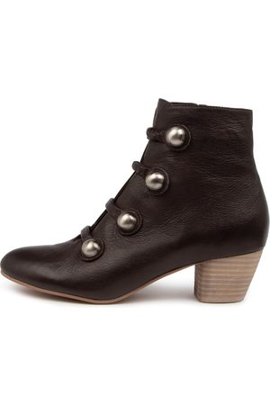 Django & Juliette Donte Dj Choc Boots Womens Shoes Casual Ankle Boots