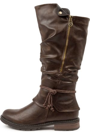 I LOVE BILLY Maldivian Il Choc Boots Womens Shoes Casual Long Boots