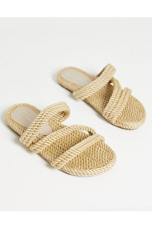 South Beach Rope slides in natrual-Neutral
