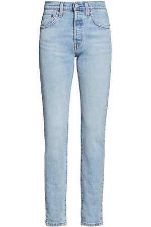 Levi's 501 High-Rise Skinny-Fit Jeans
