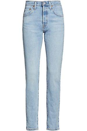 Levi's Women Boyfriend - 501 High-Rise Skinny-Fit Jeans