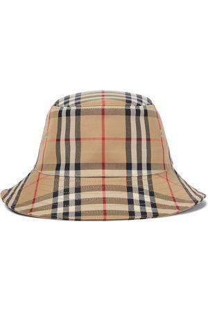 Burberry Boys Hats - Vintage Check cotton-blend bucket hat